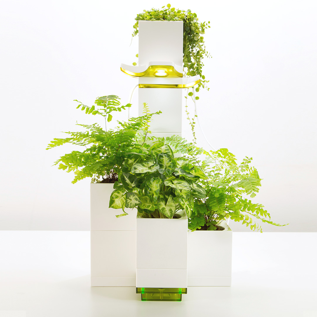 100 This Smart Herb Garden Lets 8 Space Saving Vertical